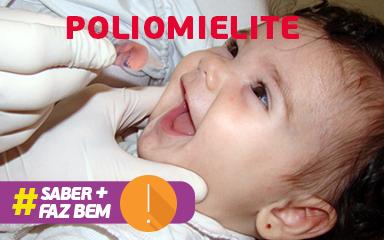 Saber mais faz bem: Poliomielite