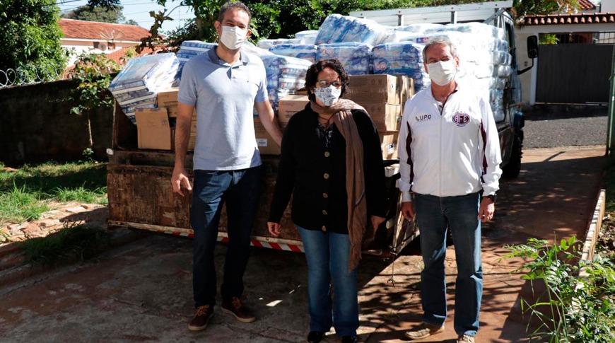 Ferroviária e DrogaVen realizam doação para o Fundo Social de Solidariedade de Araraquara