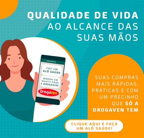 Peça seus produtos pelo WhatsApp Alô Saúde. (16)3336-9000